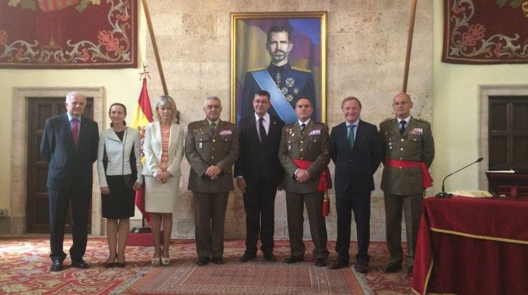Toma de mando del General Jefe del CGTAD, Francisco José Gan Pampols