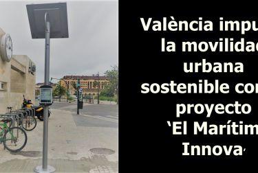 València impulsa la movilidad urbana sostenible con el proyecto 'El marítim Innova'