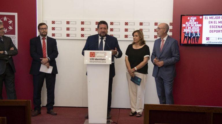 La Diputación de Castellón y la ACB convierten la provincia en sede mundial del baloncesto