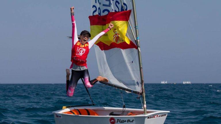 María Perelló, bicampeona del Mundo de Optimist
