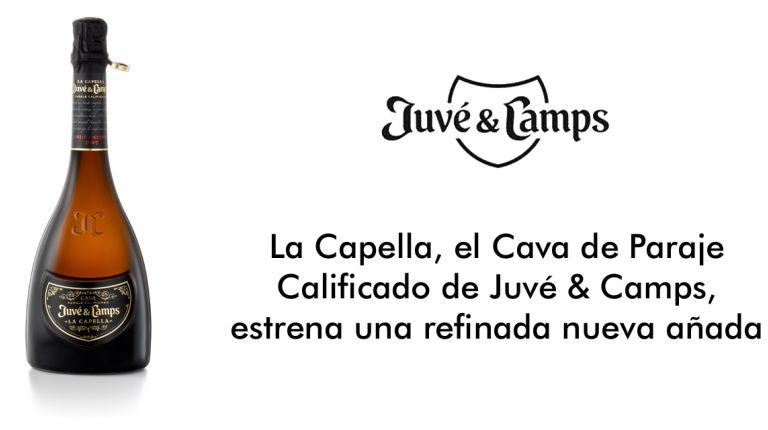 La Capella, el Cava de Paraje Calificado de Juvé & Camps, estrena una refinada nueva añada