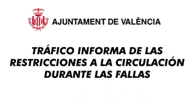 Del 16 al 20 de marzo queda prohibida la circulación en la zona centro de la ciudad