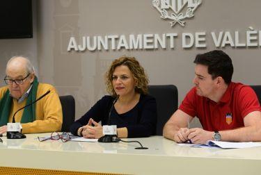 """El ayuntamiento presenta la 1ª edición """"solidaria"""" de la travesía de navidad ciudad de valència"""