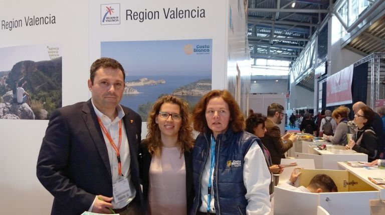 El Patronato Costa Blanca promociona el turismo activo y experiencial de la provincia en Alemania