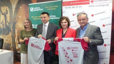 Cruz Roja ha presentado esta mañana la V Carrera Solidaria Popular en Valencia