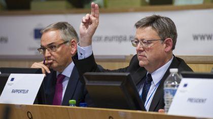 Puig reivindica ante la UE más fondos para acelerar la ejecución de una red europea de transportes que permita promover políticas de inclusión