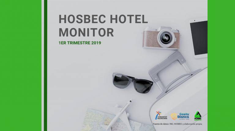 HOSBEC presenta el balance turístico de la Comunidad Valenciana de los tres primeros meses del año.