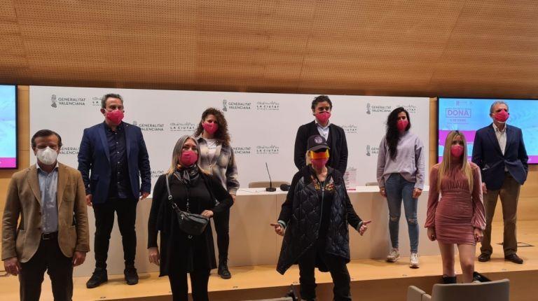 La 4ª edición  del dia de  la dona festival se podrá seguir  on line  través de la web de visit valencia y redes sociales