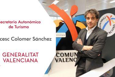 """Francesc Colomer """"uno de los grandes retos que hemos logrado es aprobar la nueva ley de turismo ocio y hospitalidad"""""""