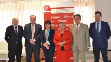 El Consejo de Cámaras de Comercio de la Comunitat Valenciana se reunio ayer en la sede de Cámara Castellón