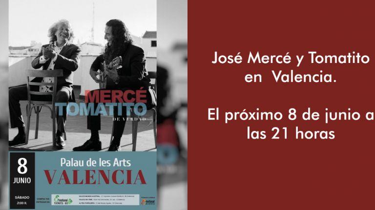 José Mercé y Tomatito en Valencia