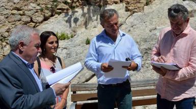 La Diputación mejora la accesibilidad de la Cova en Gomar de Bocairent
