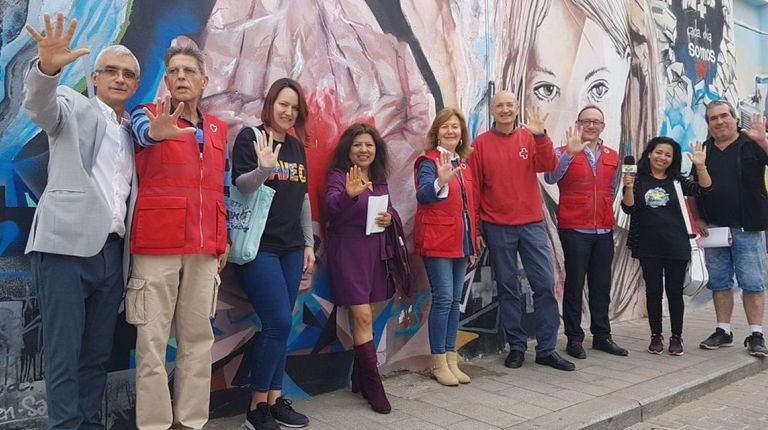 """Cruz Roja reúne a más de 200 artistas en """"Generamos Igualdad"""""""