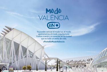 València lanza la campaña de turismo  'Modo On' que marca el inicio de la recuperación del sector
