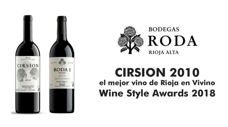 CIRSION 2010 de Bodegas RODA, el mejor vino de Rioja en Vivino