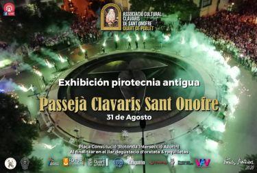 Los clavarios de Sant Onofre innovan un año más para la Passejà y las fiestas en honor del patrón de Quart