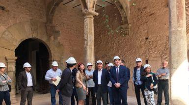 Moragues avanza que este verano las obras de la II Fase del Palau de Betxí estarán acabadas y los espacios abiertos al público