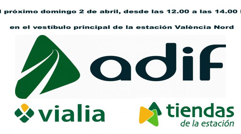 La estación de València Nord de Adif acoge una  exhibición de sevillanas