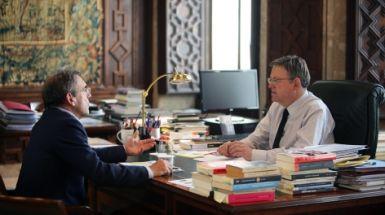 El President anuncia la puesta en marcha de las obras para la finalización del Àgora