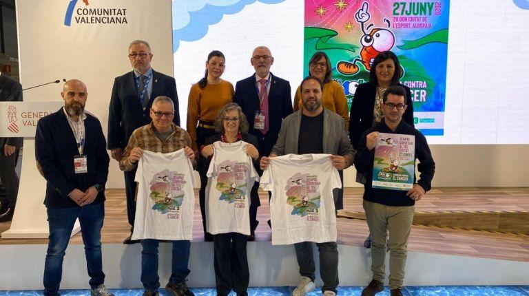 Alboraya da a conocer la 10K Fundación Divina Pastora Alboraya contra el Cáncer en FITUR 2020