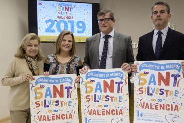 Más de 17.0000 corredores y corredoras despedirán el 2019 en la 36ª san silvestre popular valenciana