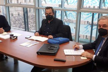 Fotur, se reúne con el nuevo director general de seguridad y emergencias, Adolf Sanmartín