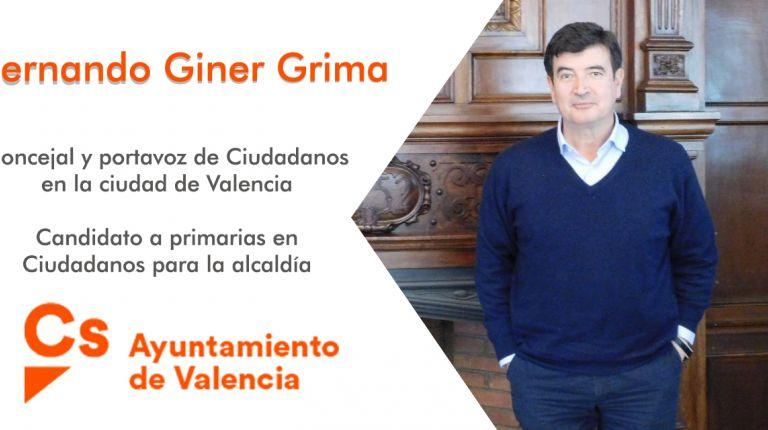 """A Fernando Giner le gustaría dejar como legado una ciudad """"donde las personas tengan oportunidades y donde se cierre el pancatalanismo"""""""