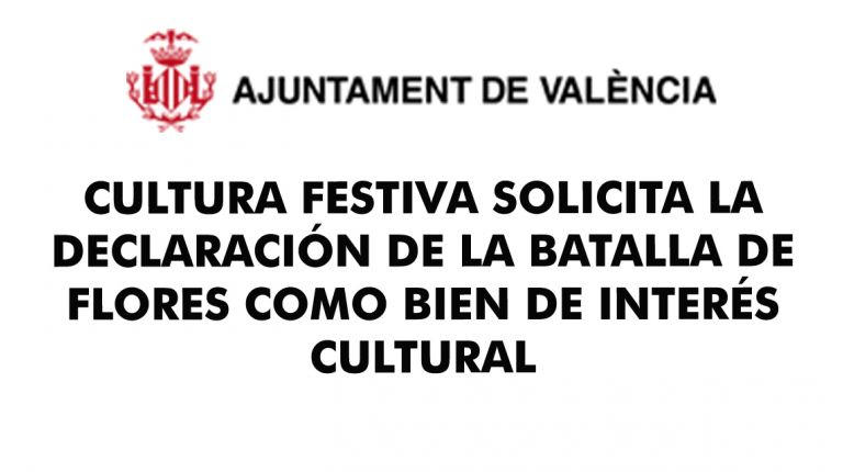 CULTURA FESTIVA SOLICITA LA DECLARACIÓN DE LA BATALLA DE FLORES COMO BIEN DE INTERÉS CULTURAL