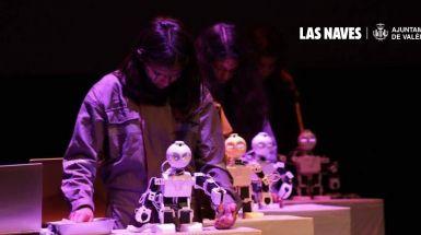 Las Naves impulsa el teatro robótico con cinco institutos de la ciudad