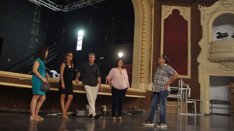 Corbera adecua el escenario del Cine-Teatro Ricardo Cebolla