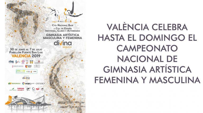 VALÈNCIA CELEBRA HASTA EL DOMINGO EL CAMPEONATO NACIONAL DE GIMNASIA ARTÍSTICA FEMENINA Y MASCULINA
