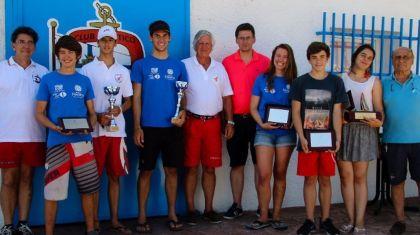 Mª Victoria Bautista y Oscar López, campeones de la Copa de España Laser Aguas Interiores en Guadalix