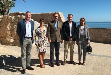 La Diputación de Castellón impulsará la internacionalización del Castillo de Peñíscola