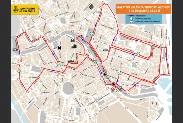 La ciudad de valència celebra su 39º maratón